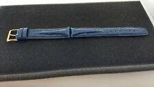 Omega Uhr Armband Krokodil Leder, Stegbreite 18mm, mit Omegaschl. abs. neuwertig