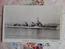 """CASQUE"" - Torpilleur 1942 - Carte Postale non datée"