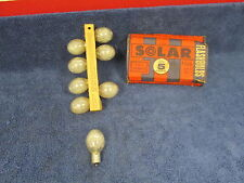 VINTAGE SOLAR SAFETY SPOT  CLASS M CAMERA FLASH BULBS  BOX OF (8 ) 417