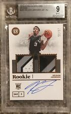 2019/20 Panini Encased #265 Keldon Johnson Jersey Bronze BGS 9 29/35