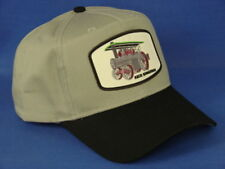 Keck Gonnerman Steam Engine Tractor Hat - Black/Gray - Snapback