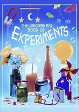 The Usborne Big Book of Experiments by Alastair Smith Paperback Ages 7 and Up