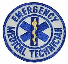 Emergency Medical Technician EMT Patch First 1st Responder Rescue Paramedic