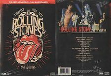 CD THE ROLLING STONES - LIVE IN VIENNA (BRAZIL EXCLUSIVE) ULTRA RARE