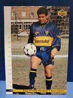 DIEGO ARMANDO MARADONA 1995 UPPER DECK CARD #165 BOCA JUNIORS ARGENTINA