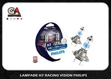 Philips H7 Racing Vision+150% di luce coppia lampade lampadine 12V 55W 12972RVS2