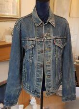 """Vintage Levis 80' años 90 tipo III Trucker Denim Jacket 40"""" Pecho Excelente Estado"""