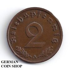 FEHLPRÄGUNG - Zainende 2 Reichspfennig 1938 A - SELTEN