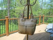 B.MAKOWSKY Camel Color Leather Handbag/Tote