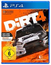 PS4 jeu Dirt 4 Day One Edition Steelbook Edition nouvelle partie
