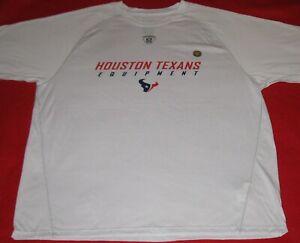 New! NFL Houston Texans Equipment Reebok T - Shirt XL