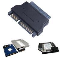 """16 Pin 1.8"""" Micro SATA HDD SSD to 22 Pin 2.5"""" SATA adapter Convertor Adaptor New"""