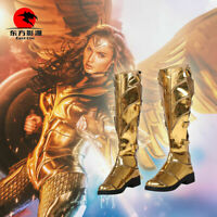Wonder Woman Princesse Diana de Themyscira Bottes cosplay Shoes Custom Made