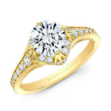 Certified 1.25cttw Diamond 14KT Yellow Gold Ring