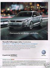 Publicité advertising 2011 VW Volkswagen Jetta