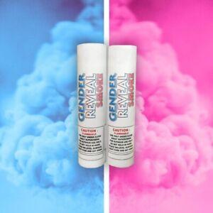 Blue Gender Reveal Smoke