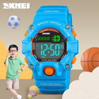 SKMEI CHILDREN'S ALARM AUTO WEEK DIGITAL WRISTWATCH 50M WATERPROOF WATCH 1484 2