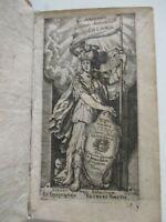 ADMIRANDA RERUM ADMIRABILIUM ENCOMIA...PALLAS - Ed. Reineri Smetil - Nimega 1666
