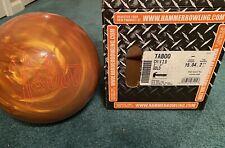 Rare 15lb Gold Taboo Hammer Bowling Ball