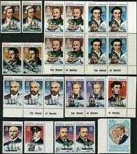 British Antarctic Territory POLAR EXPLORERS Stamps Postage Collection Mint NH