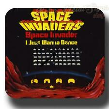 Space Invaders VINTAGE RETRO  METAL TIN SIGN WALL CLOCK