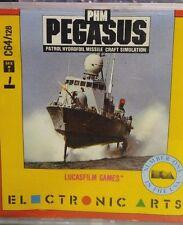 PHM Pegasus (Lucasfilm Games) C64 (Box, Handbuch, Disk) 100% ok
