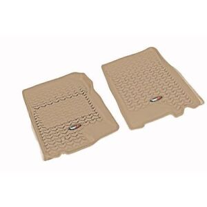 New Front Floor Liner Set Tan Ford F150 01-03 X 83902.05