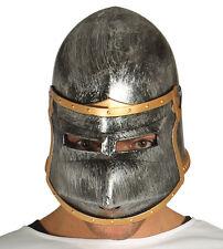 Deluxe Medieval Helmet Hat Spartan Soldier Roman Plastic Warrior Fancy Dress