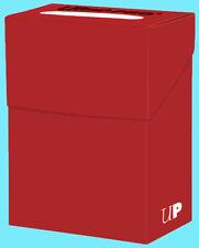 Ultra Pro DECK BOX RED Card Holder NEW Gaming Storage Case mtg pokemon yugioh