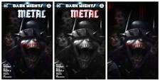 Dark Nights Metal #2 Mattina Variant set 3 Trade, B&W, Virgin Batman that Laughs
