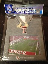 Texas Tech Sweatshirt Photo Frame Holds 4x6 Photo New In Package