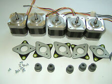 5 Stepper motors NEMA 17- 60.8 oz/in CNC ROUTER ROBOT REPRAP MAKERBOT Prusa 2006