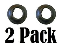 2 Pack 3.50 - 8 Tyre & Inner Tube Wheel Wheelbarrow Innertube STRAIGHT VALVE