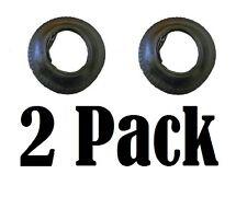 2 Pack 3.50 - 8 Pneumatici & Tubo Interno Ruota Carriola innertube valvola dritta
