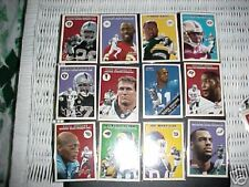 FLEER  TRADITION 2000 NFL TRADING CARDS LOT OF 18