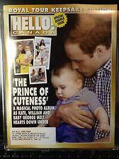 Hello Canada Magazine Royal Tour Edition Prince of Cuteness  2014 May Mint