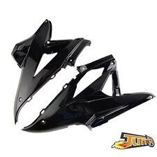 2 Coque Moteur + Droit Tunning pour Yamaha MBK  NITRO/AEROX Noir