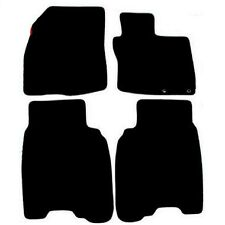 Honda Civic 2006 to 2008 Black Tailored Fitted Car Mats Free Coloured Binding
