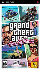 Grand Theft Auto: Vice City Stories (Sony Psp, 2006) - Original Box and Manual!