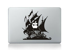 "Pirate Apple Macbook Air/Pro 13"" Removable Vinyl Sticker Skin Decal Cover"