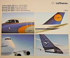 Herpa Wings 1:500  Lufthansa Sammler-Box 4 - in -1 Set  531313  Modellairport500