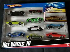 Hot Wheels 10 #54886 2008 Unopened never used (Set 1)