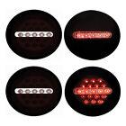 New Black LED Tail Light Set For 05-13 Chevrolet Corvette C6 GM2800188 GM2801188  for sale