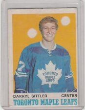 1970 71 OPC O Pee Chee #218 Darryl Sittler Rookie Card Toronto Maple Leafs