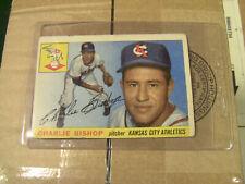 Topps 1955 #96 Charlie Bishop