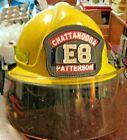 Morning Pride FireFighter Helmet Plus Series Leather Badge Face Shield SZ 6-9.5