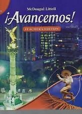 Avancemos!: Teacher s Edition Level 1 2007 by MCDOUGAL LITTEL