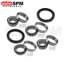 Pair Front Wheel Bearing &Race Set &Seal Kit Assembly Fit Toyota Pickup RWD 2WD