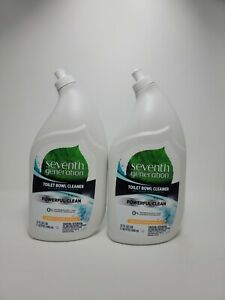 (2 Pack) Seventh Generation Toilet Bowl Cleaner Emerald Cypress & Fir scent 32oz