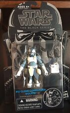 Star Wars The Black Series! New #12 Clone Commander Wolffe Action Figure!
